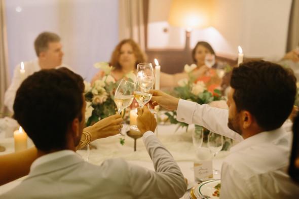 Красивая испанская свадьба на побережье - фото №99