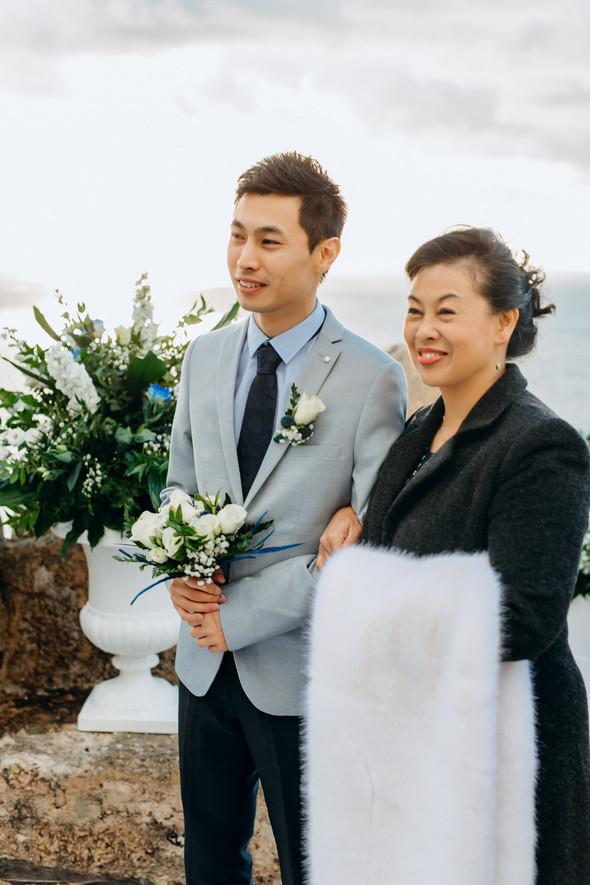 Позитивная семейная свадьба в Италии - фото №65