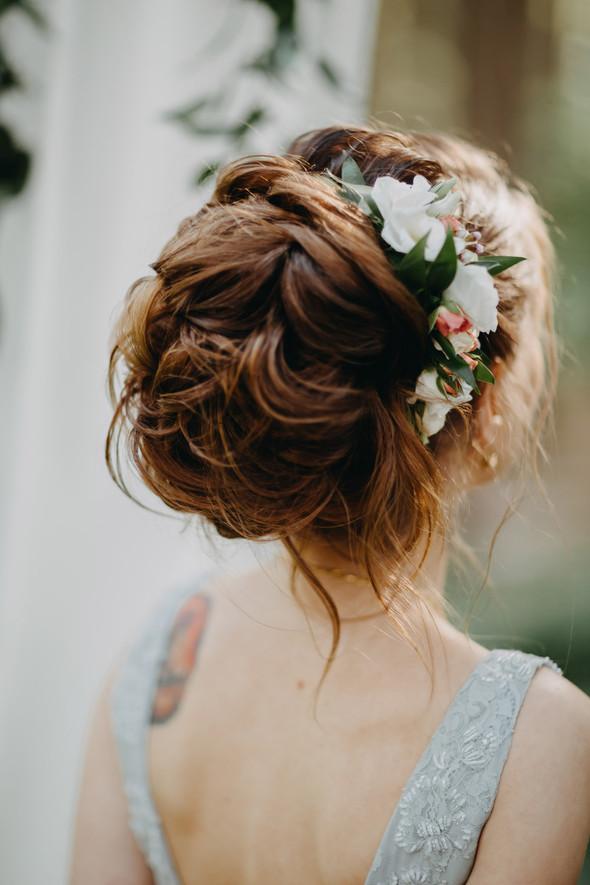 Лесная свадьба в Карпатах - фото №16
