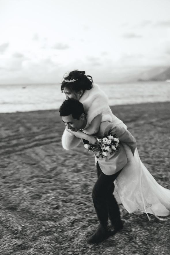 Позитивная семейная свадьба в Италии - фото №122