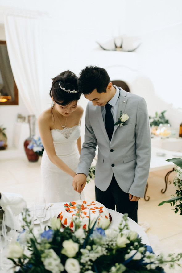 Позитивная семейная свадьба в Италии - фото №126