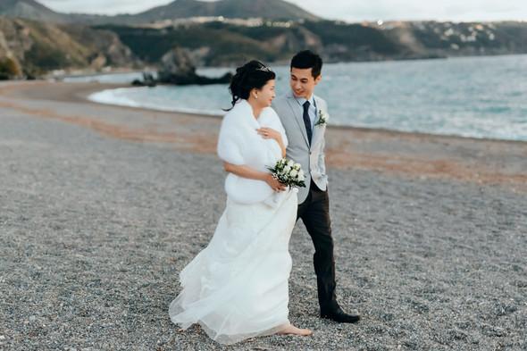 Позитивная семейная свадьба в Италии - фото №111