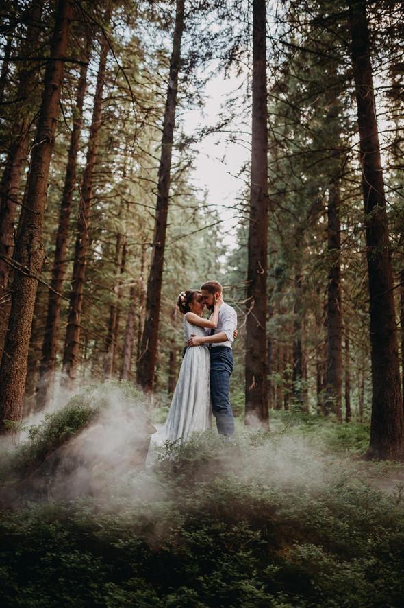Лесная свадьба в Карпатах - фото №51