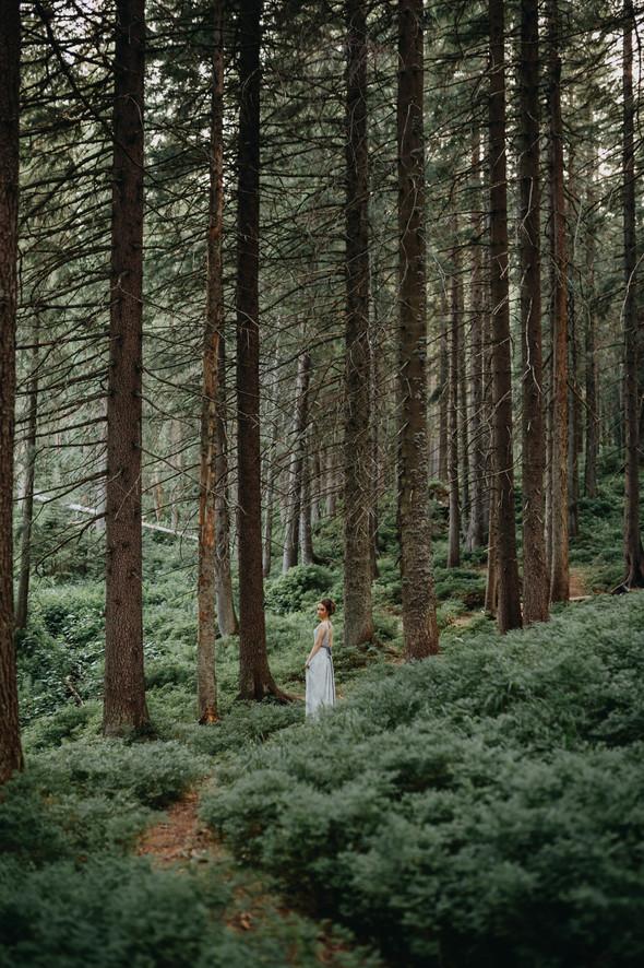 Лесная свадьба в Карпатах - фото №4