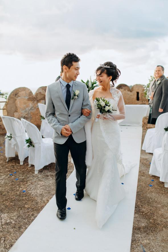 Позитивная семейная свадьба в Италии - фото №75