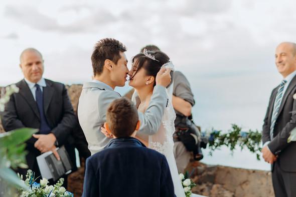 Позитивная семейная свадьба в Италии - фото №74