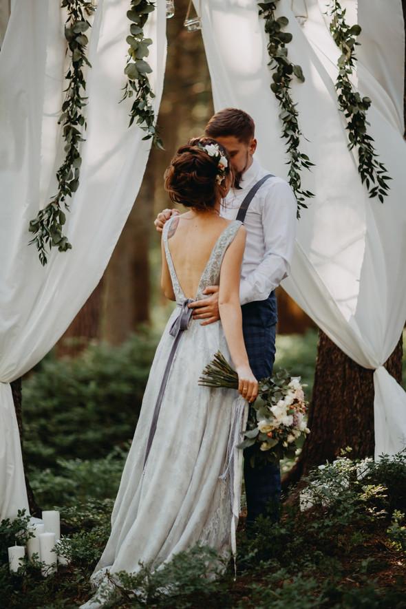 Лесная свадьба в Карпатах - фото №13
