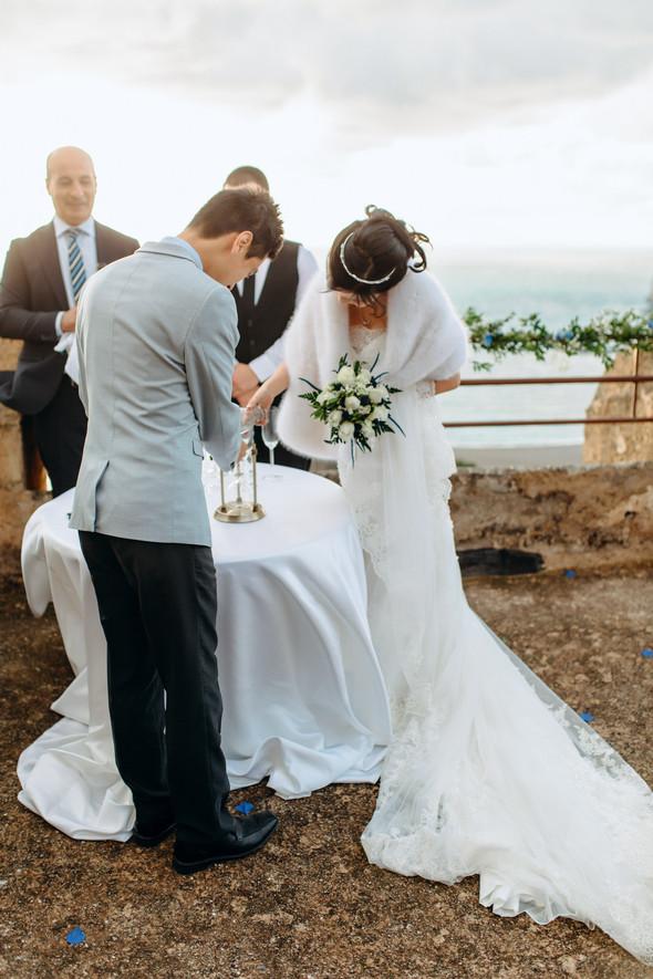 Позитивная семейная свадьба в Италии - фото №76