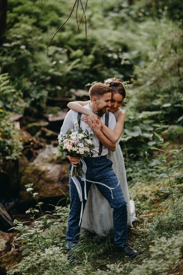 Лесная свадьба в Карпатах - фото №37