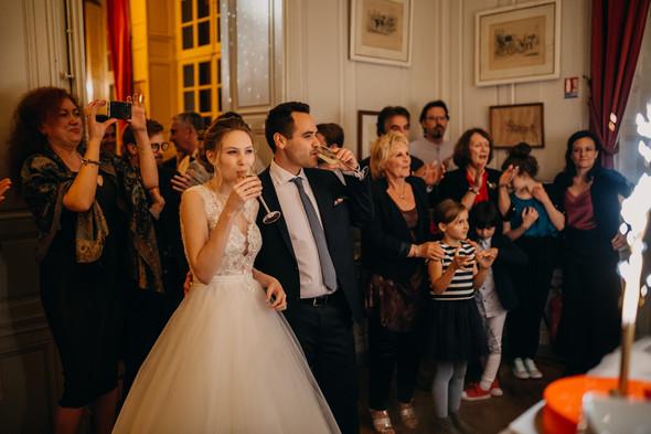 Уютная французская свадьба - фото №125