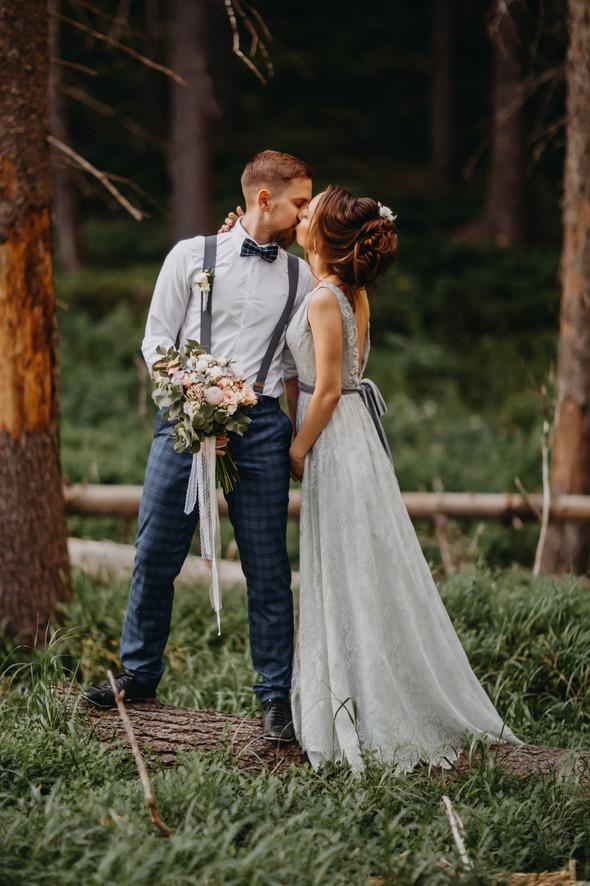 Лесная свадьба в Карпатах - фото №46