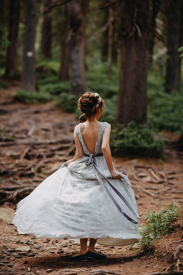 Лесная свадьба в Карпатах - фото №24