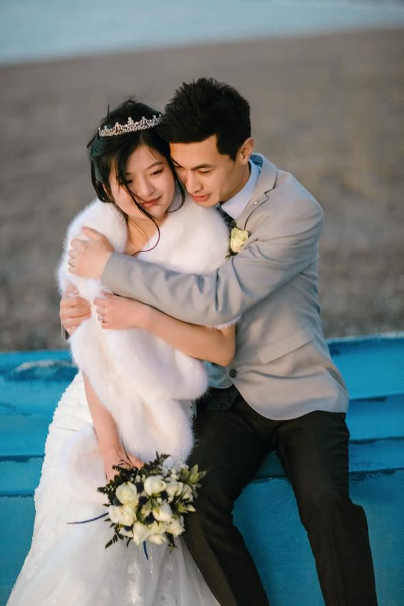 Позитивная семейная свадьба в Италии - фото №119
