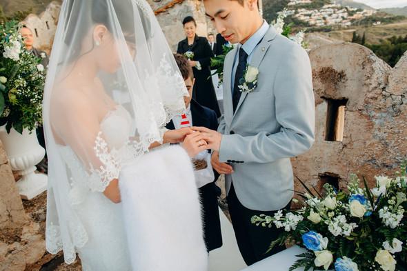 Позитивная семейная свадьба в Италии - фото №73