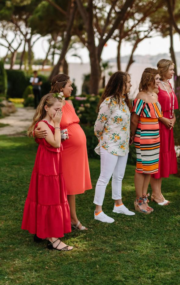 Красивая испанская свадьба на побережье - фото №48