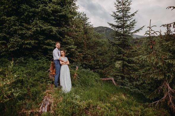 Лесная свадьба в Карпатах - фото №55