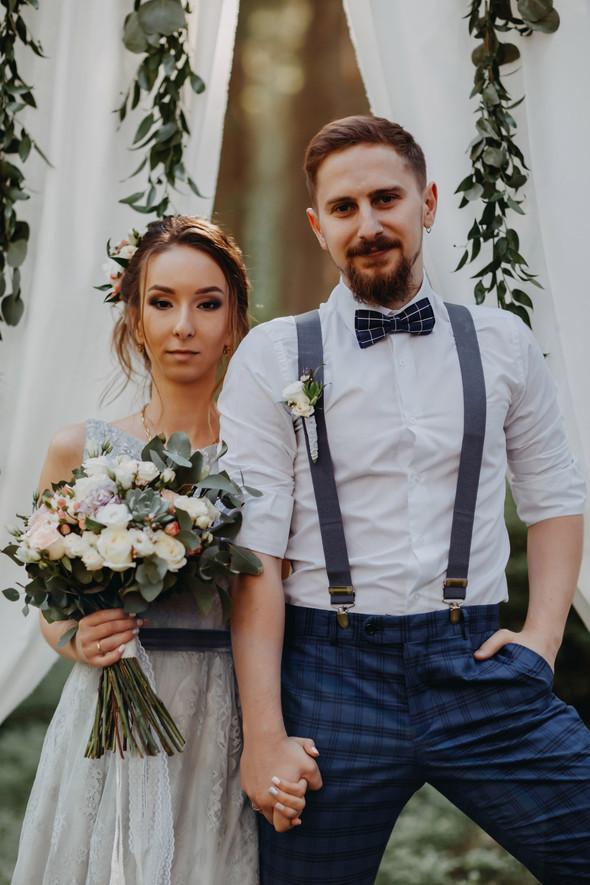 Лесная свадьба в Карпатах - фото №17