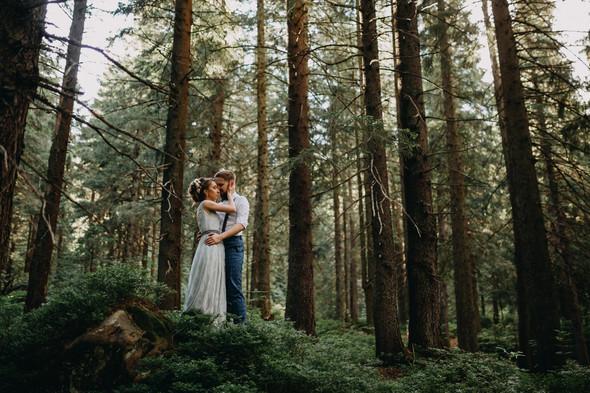Лесная свадьба в Карпатах - фото №33