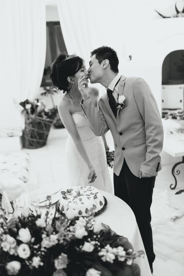 Позитивная семейная свадьба в Италии - фото №128