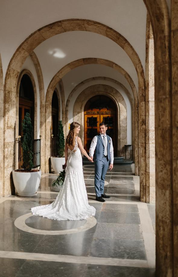 Красивая испанская свадьба на побережье - фото №64