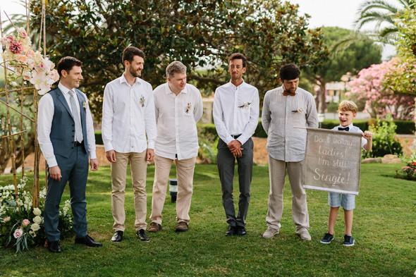 Красивая испанская свадьба на побережье - фото №37