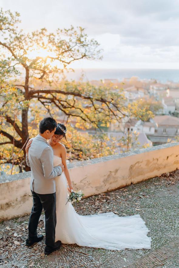 Позитивная семейная свадьба в Италии - фото №102
