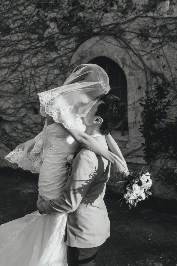 Позитивная семейная свадьба в Италии - фото №94