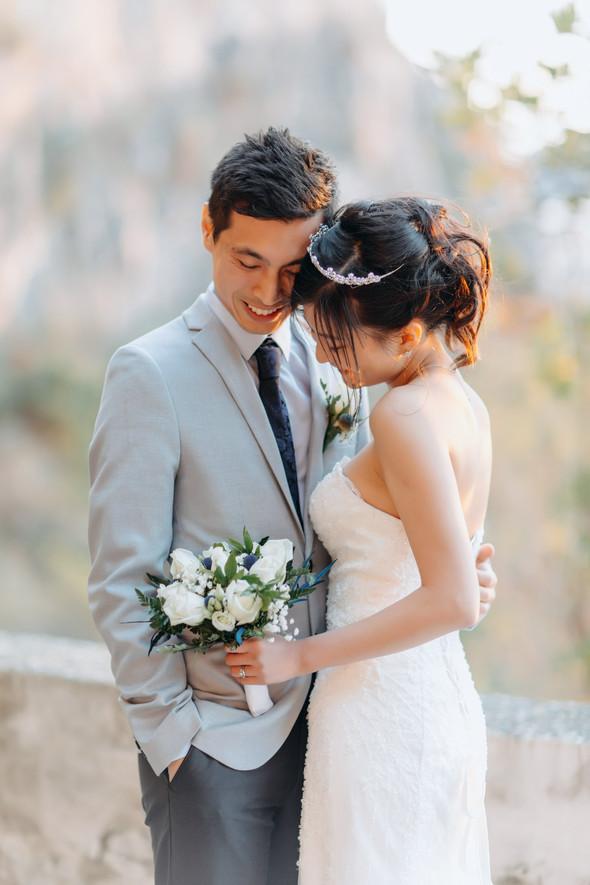 Позитивная семейная свадьба в Италии - фото №103