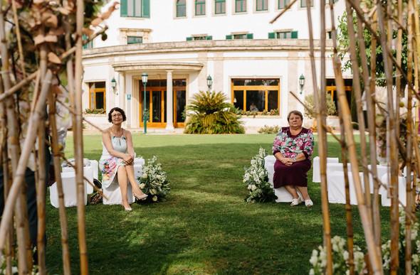 Красивая испанская свадьба на побережье - фото №32