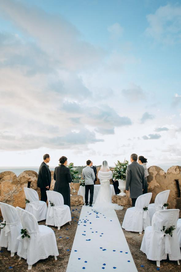 Позитивная семейная свадьба в Италии - фото №68