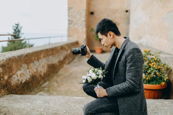 Позитивная семейная свадьба в Италии - фото №16