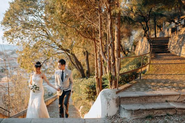 Позитивная семейная свадьба в Италии - фото №101