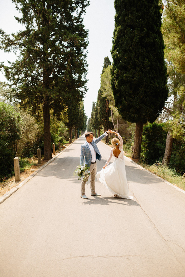 Испанская семейная свадьба на вилле недалеко от Барселоны - фото №71