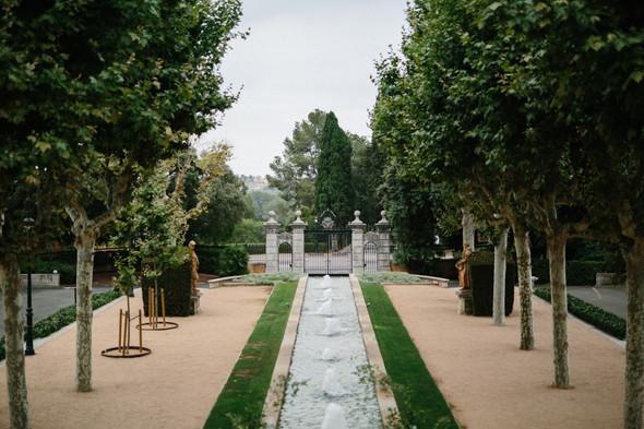 Испанская семейная свадьба на вилле недалеко от Барселоны - фото №4