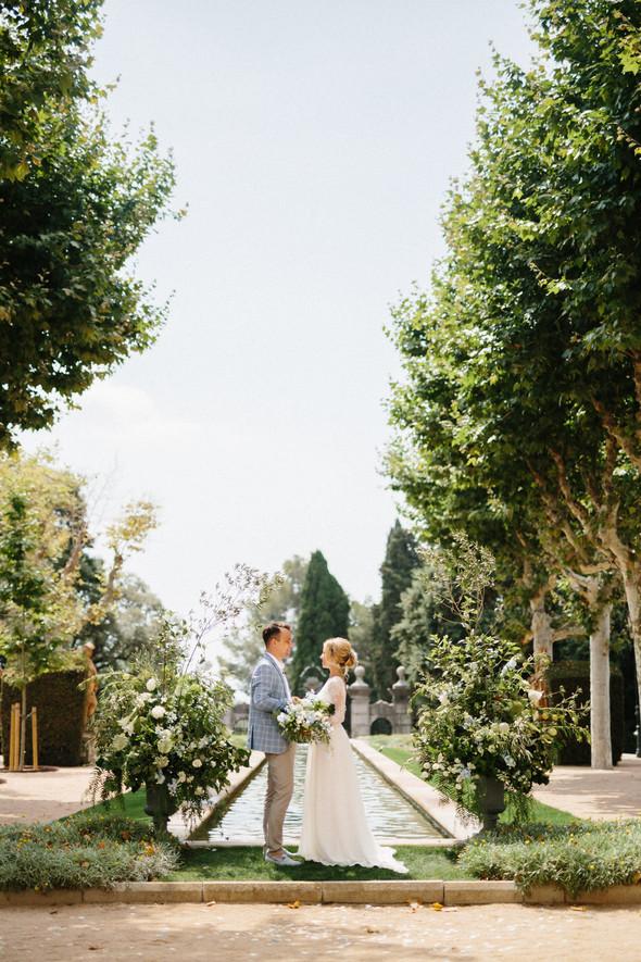 Испанская семейная свадьба на вилле недалеко от Барселоны - фото №65