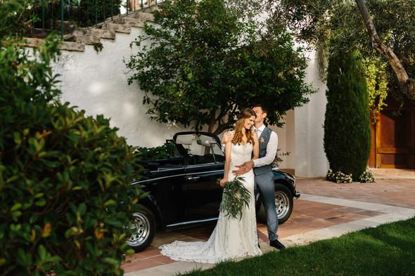 Красивая испанская свадьба на побережье - фото №70