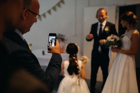Атмосферная датская свадьба - фото №122