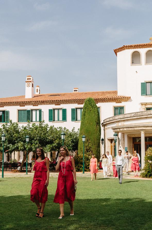 Красивая испанская свадьба на побережье - фото №29