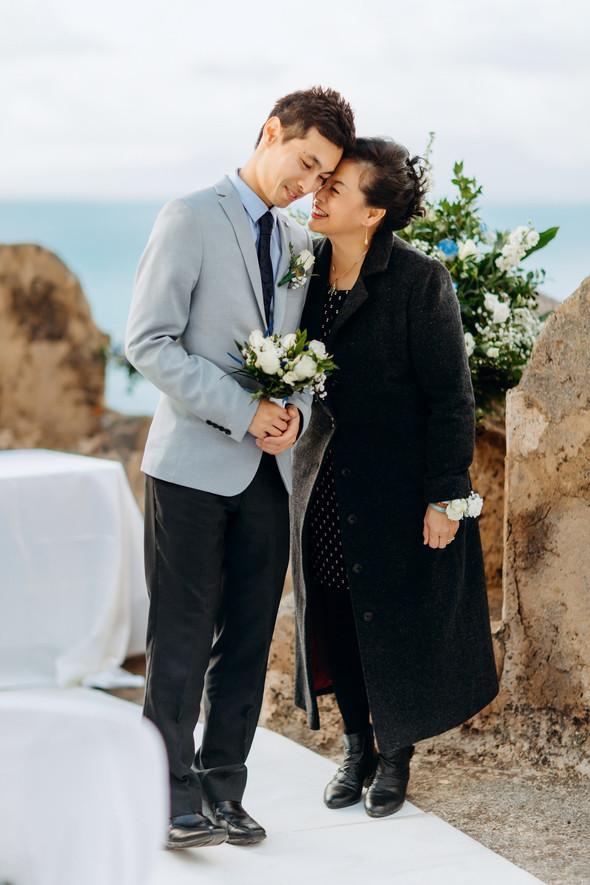 Позитивная семейная свадьба в Италии - фото №57