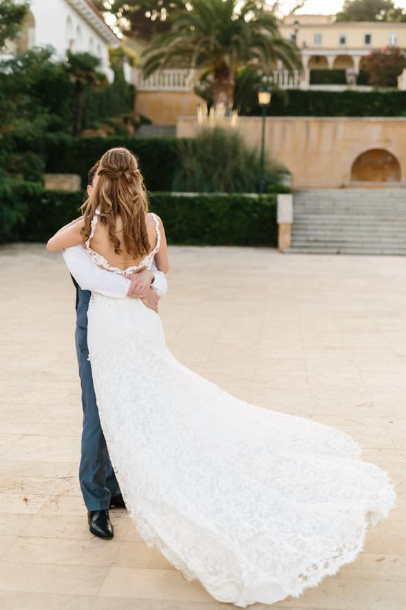 Красивая испанская свадьба на побережье - фото №83