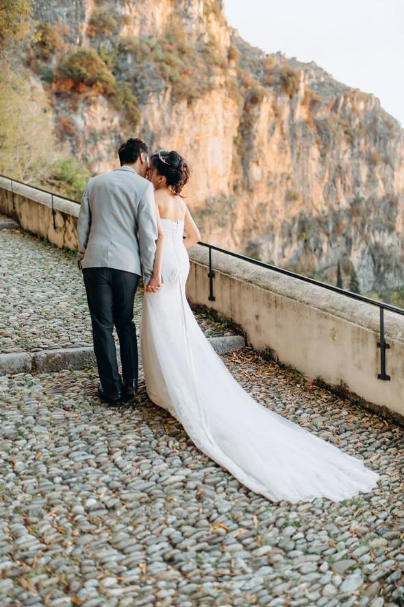 Позитивная семейная свадьба в Италии - фото №99