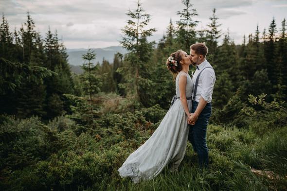 Лесная свадьба в Карпатах - фото №57