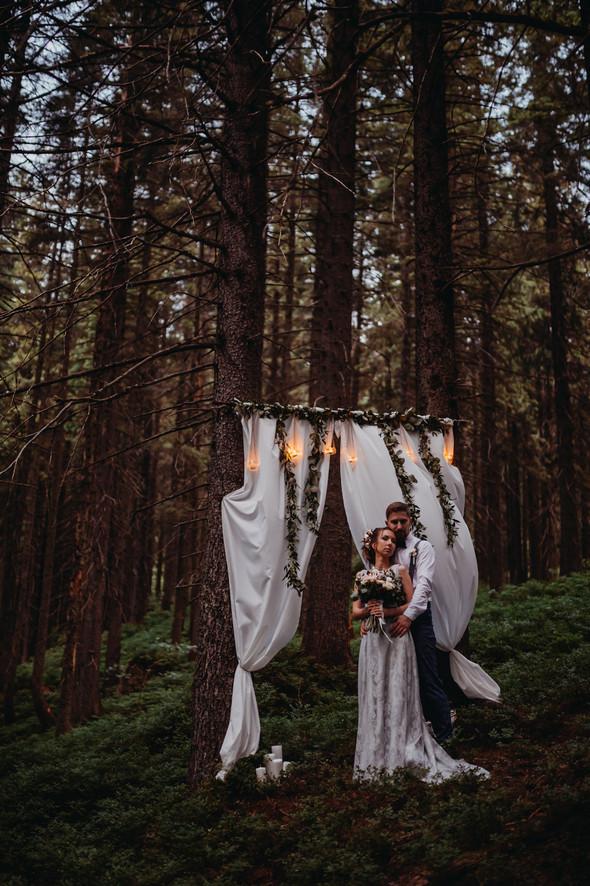 Лесная свадьба в Карпатах - фото №67