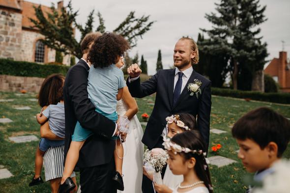 Атмосферная датская свадьба - фото №87