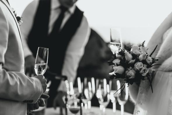 Позитивная семейная свадьба в Италии - фото №80