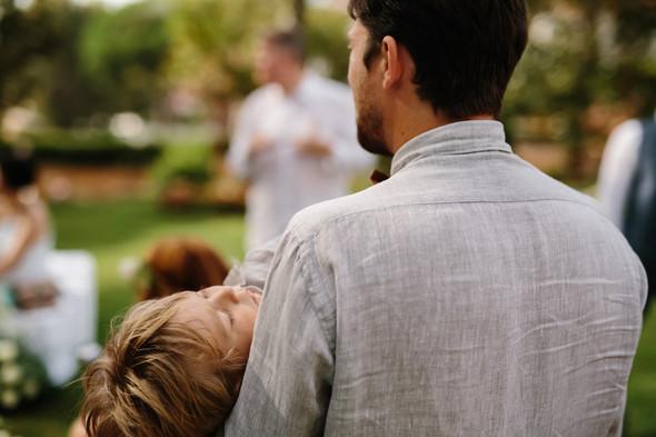 Красивая испанская свадьба на побережье - фото №30