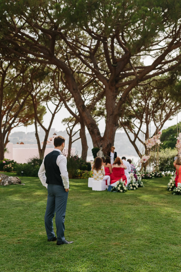 Красивая испанская свадьба на побережье - фото №33