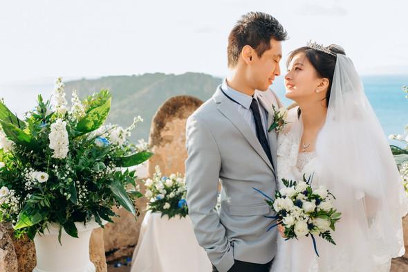 Позитивная семейная свадьба в Италии - фото №83