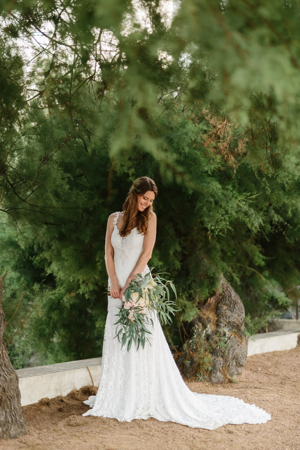 Красивая испанская свадьба на побережье - фото №81