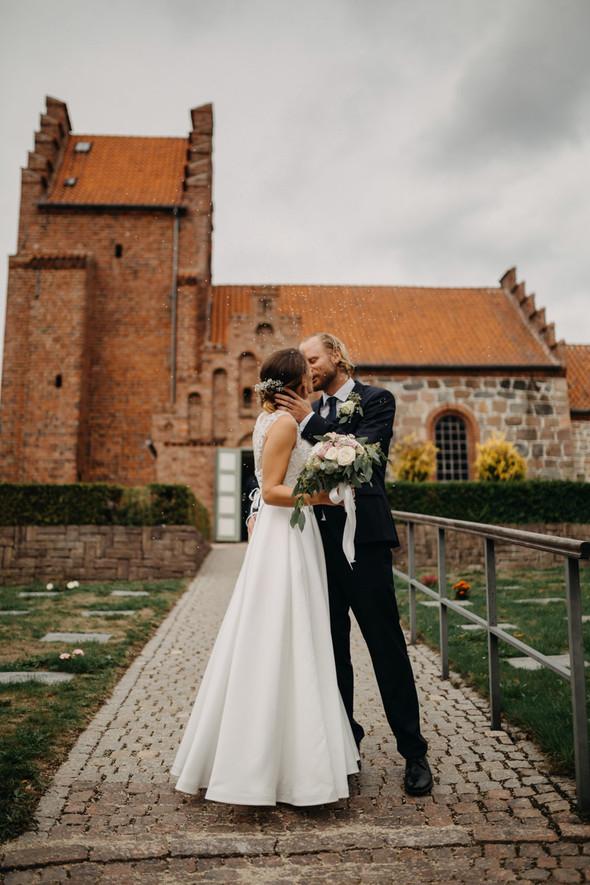 Атмосферная датская свадьба - фото №88